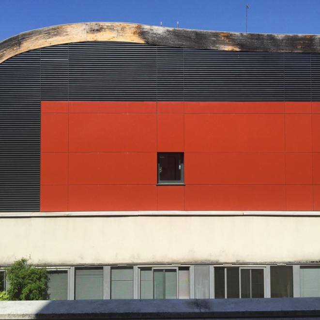 Une façade hospitalière © ET
