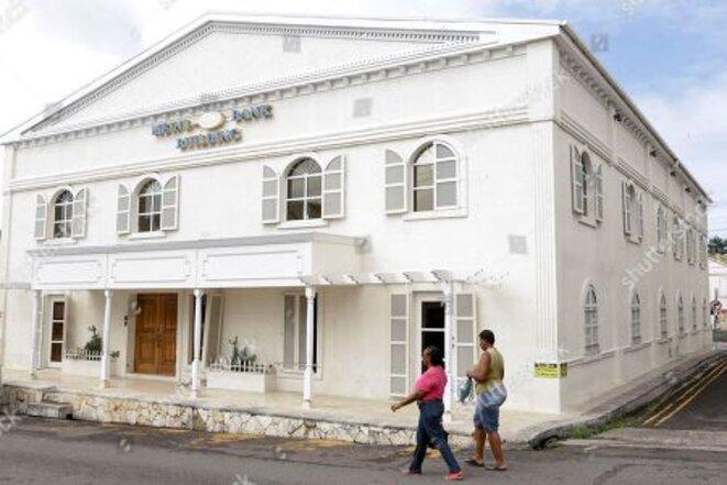 La Meinl Bank d'Antigua rachetée par le groupe Odebrecht pour ses paiements occultes. © DR