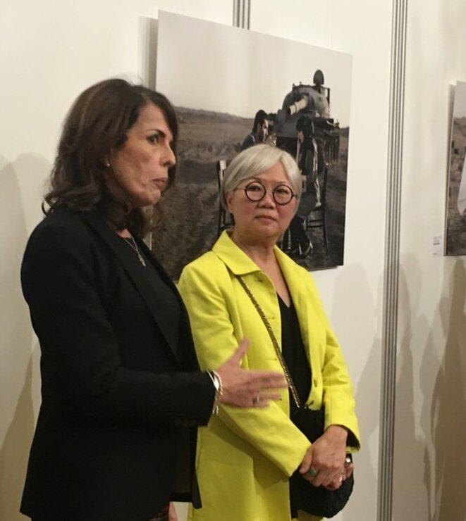 Kathy Shorr et son interprète