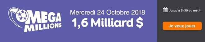Jouer à Mega Millions en ligne ce soir