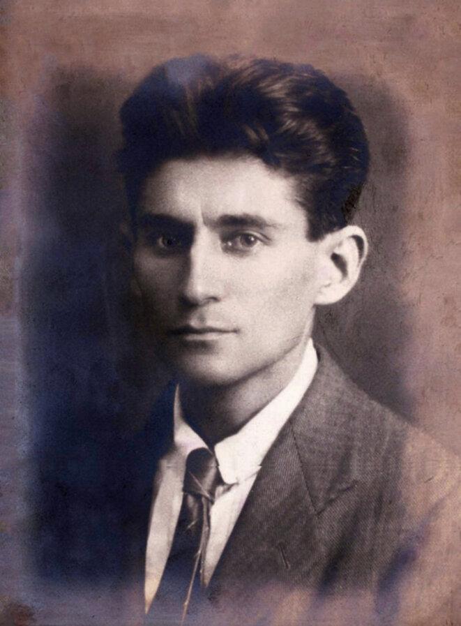 Portrait de Kafka, anonyme, 1917