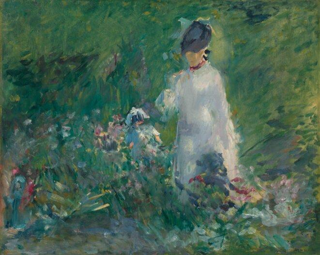 Manet Edouard, jeune femme
