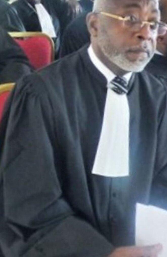 Le seul candidat à l'élection du 24 octobre 2018, Me Lubin Ntoutoume