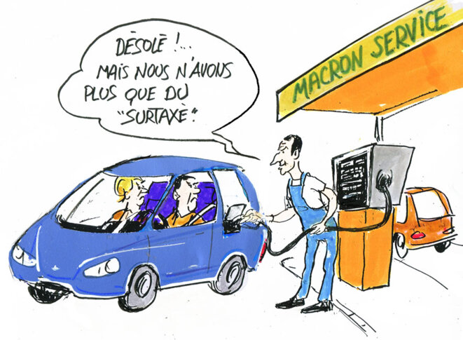 Prix des carburants © Calvi