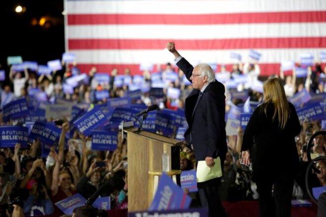 7 juin 2016. Bernie Sanders perd la primaire démocrate de Californie, ouvrant la voie à une candidature démocrate de Hillary Clinton à la présidentielle. On connaît la suite… © Reuters