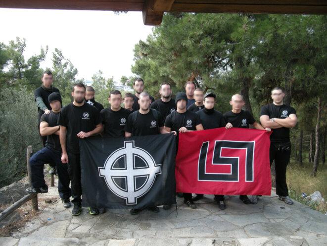 Une milice du parti grec néo-nazi Aube Dorée