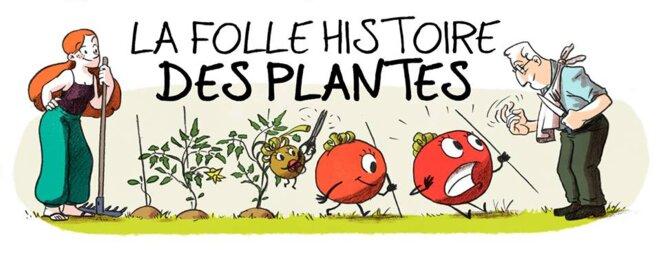 la folle histoire des plantes © Matthieu Ferrand & Sandrine Boucher