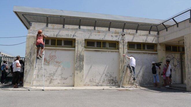 L'école de La Viste, à Marseille. © Marsactu
