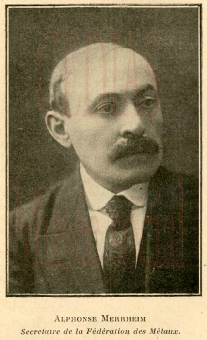 Photographie de presse de la Confédération générale du travail. Source: gallica.bnf.fr. © CGT