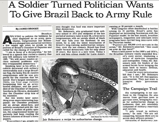 El artículo del NYT, julio de 1993.
