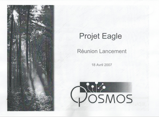 EAGLE programme, Qosmos, April 2007 © Qosmos