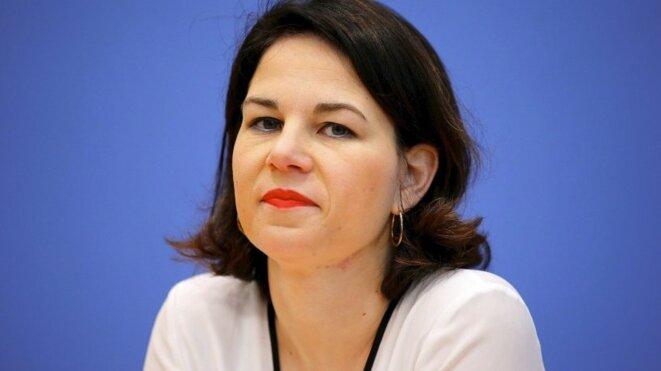 Annalena Baerbock © Reuters.