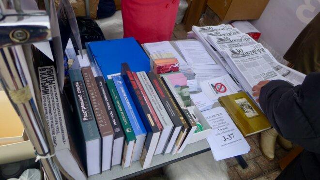Bibliothèque à consulter sur place © CB