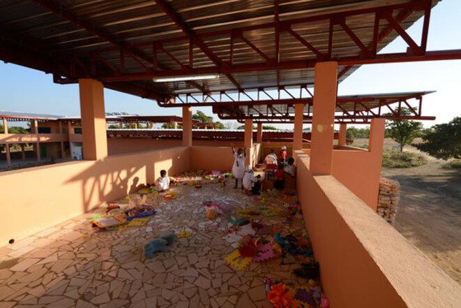 En 2010, l'association Semaf-Bamako, présidée par Jean-Jacques Bridey, a financé la construction d'un orphelinat au Mali. © Semaf Bamako
