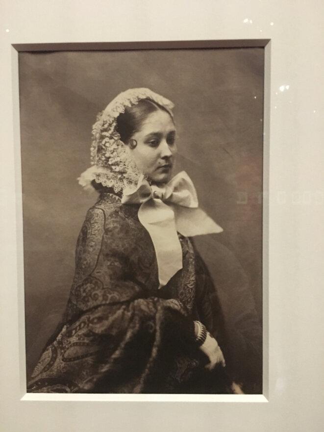 Mademoiselle Finette par Félix Nadar