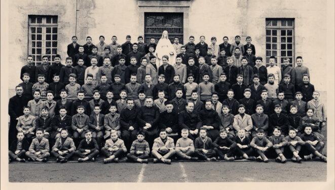 La photo de rentrée à Chavagnes en 1960. © DR