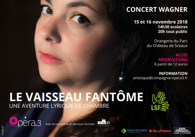 Concert 15 et 16 novembre 2018 à l'Orangerie de Sceaux © Opera.3 © ADELAP