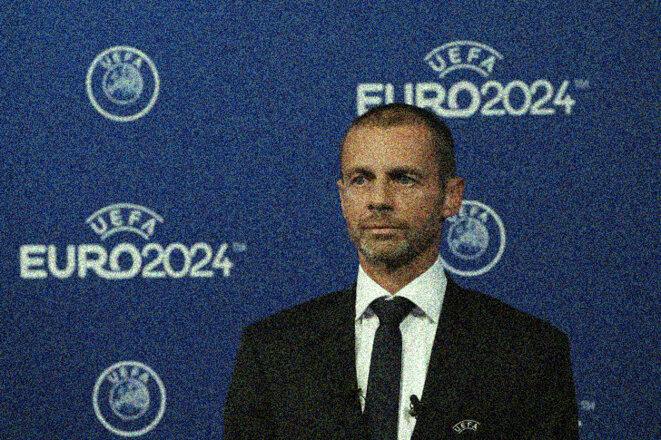 Aleksander Ceferin, président de l'UEFA depuis 2016. © Reuters
