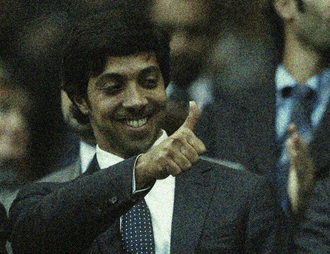 Le cheikh Mansour bin Zayed al Nahyan, demi-frère du souverain d'Abou Dhabi, a racheté Manchester City en 2008. © Reuters