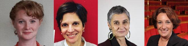Elen Debost, Sandrine Rousseau, Annie Lahmer, Isabelle Attard © DR
