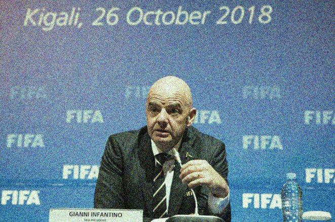 Gianni Infantino a été élu président de la FIFA le 26 février 2016 © Reuters