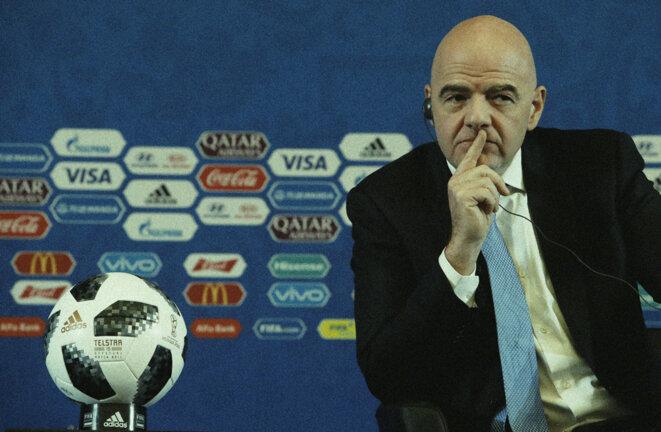 Gianni Infantino, ancien secrétaire général de l'UEFA, président de la Fifa depuis 2016. © Reuters