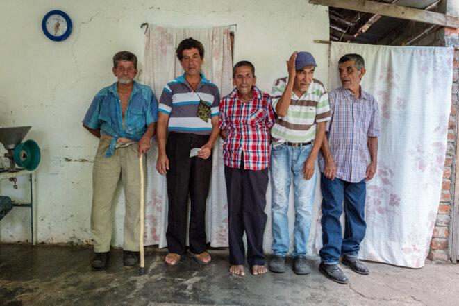 Tous les membres de Ricaurte présentant un X fragile, y compris Hector (deuxième à gauche) et Victor (deuxième à droite) Triviño, peuvent être issus d'un ancêtre commun. © Spectrum News