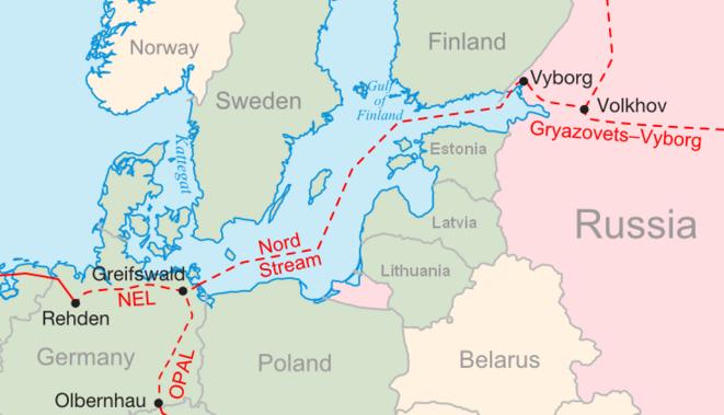 Nord Stream © Wikipedia