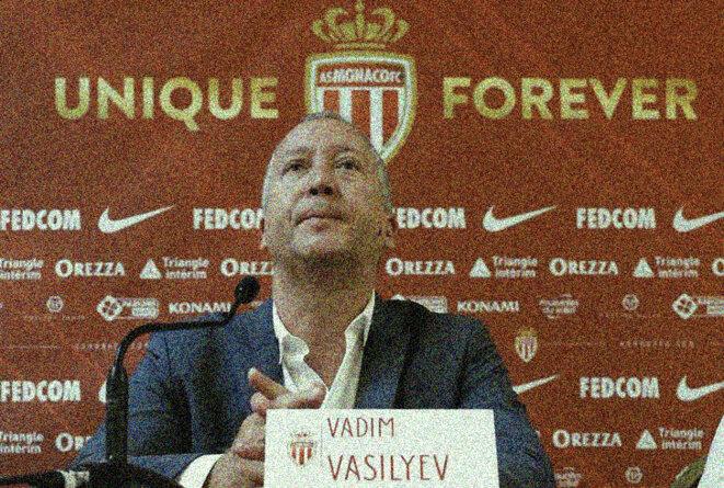 Vadim Vasilyev, directeur général de l'AS Monaco. © Reuters