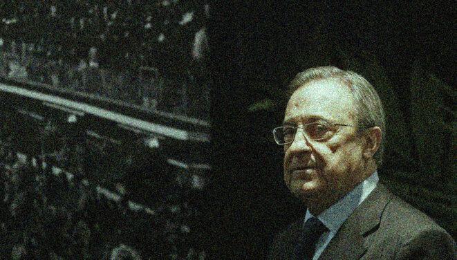 Florentino Perez, président du Real Madrid. © Reuters
