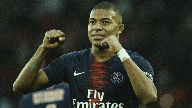 Kylian Mbappé sous les couleurs du PSG. © Reuters
