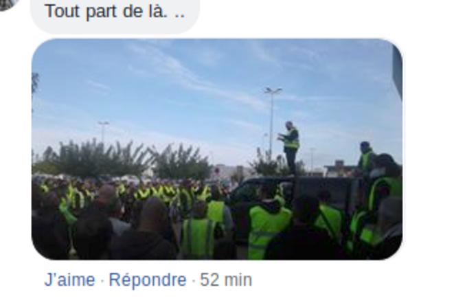 Le rassemblement, dimanche 4 novembre à Narbonne.