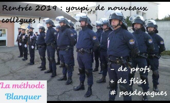 """Source : Page """"La méthode Blanquer"""" sur Facebook"""