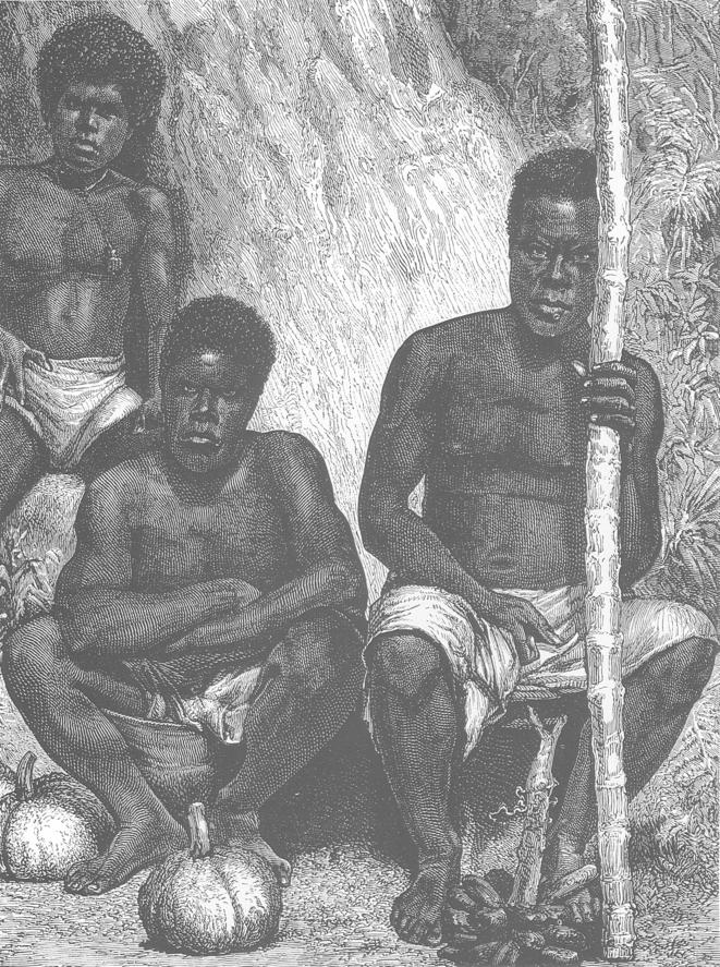 Indigenes de Nouvelle Caledonie 1880 © Domaine Public