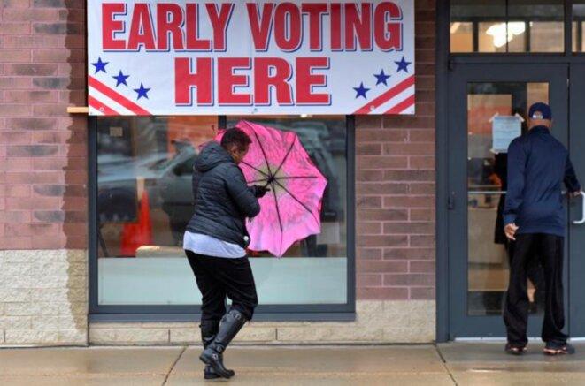 Vote anticipé à Milwaukee (Wisconsin), le 4 novembre. © Reuters