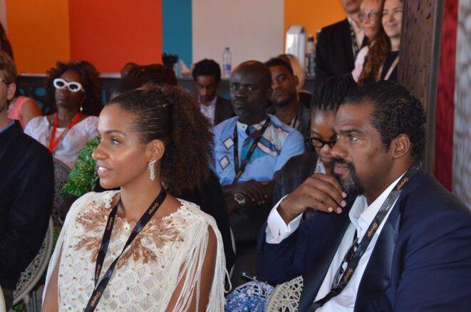 Serge et Cindy Descalzi Pereira lors du dernier festival de Cannes