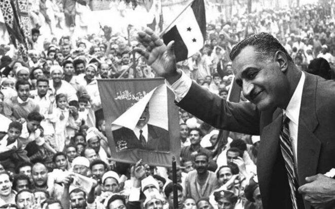 Gamal Abdel Nasser, second président de la République d'Egypte de 1956 à 1970