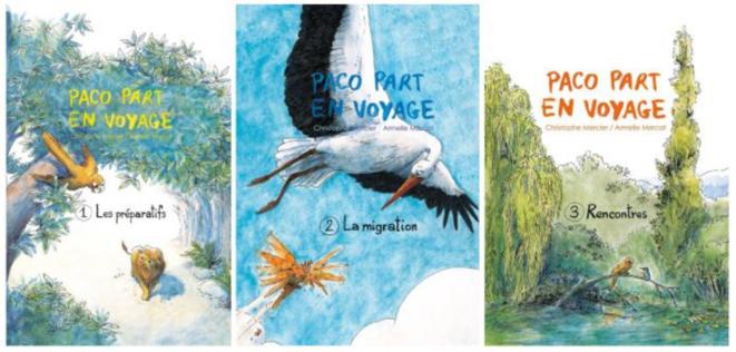 Paco part en voyage (La Trilogie) de Christophe Mercier
