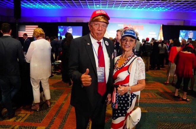 Noche republicana en Orlando (Florida). © Reuters