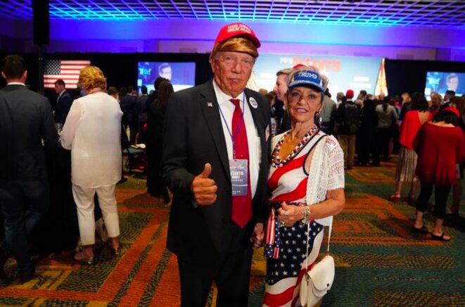 Soirée républicaine à Orlando (Floride). © Reuters