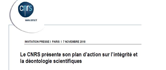 Communiqué du CNRS © CNRS
