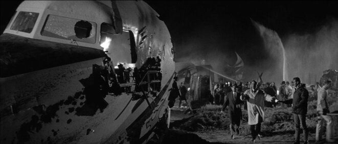 """""""Le Crash mystérieux"""" de Ralph Nelson © Les Films du Paradoxe"""