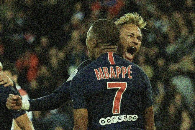 Neymar et Mbappé. © Reuters