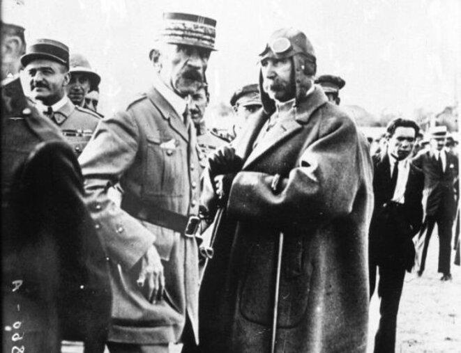 1925 Lyautey, Franco et Pétain - alliés d'une sale guerre au RIF © MB
