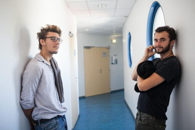 Théo et Sébastien