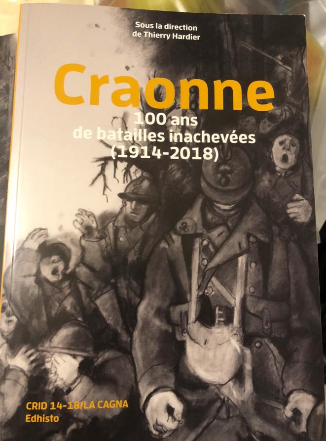 Ouvrage présenté à Craonne les 3-4 novembre 2018