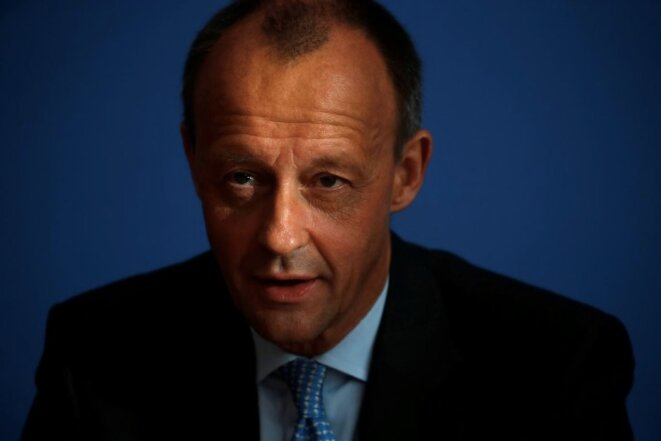 Friedrich Merz, le 31 octobre 2018. © Reuters
