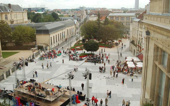 Le centre-ville de Saint-Denis. © jean-pierre charbonneau