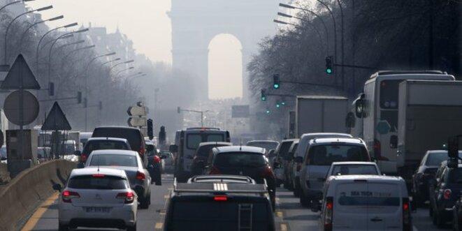 Paris dans les embouteillages. © Reuters