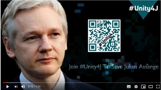 Julian Assange © Unity4J